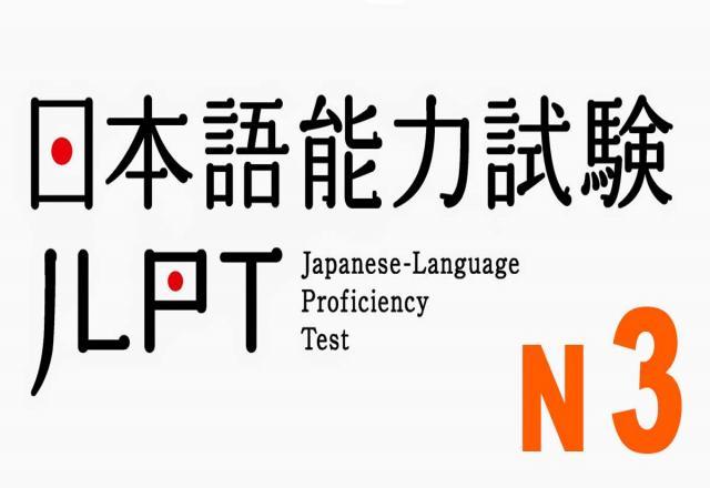 Mẫu đề thi năng lực tiếng Nhật N3