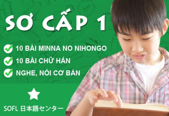 Lịch khai giảng tháng 6 - Lớp tiếng Nhật sơ cấp 1