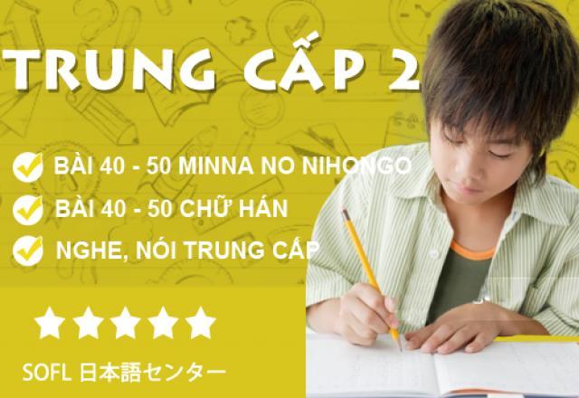 Lớp học tiếng Nhật trung cấp 2- tháng 8/2016