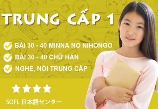 Lớp học tiếng Nhật trung cấp 1 tháng 10/2016