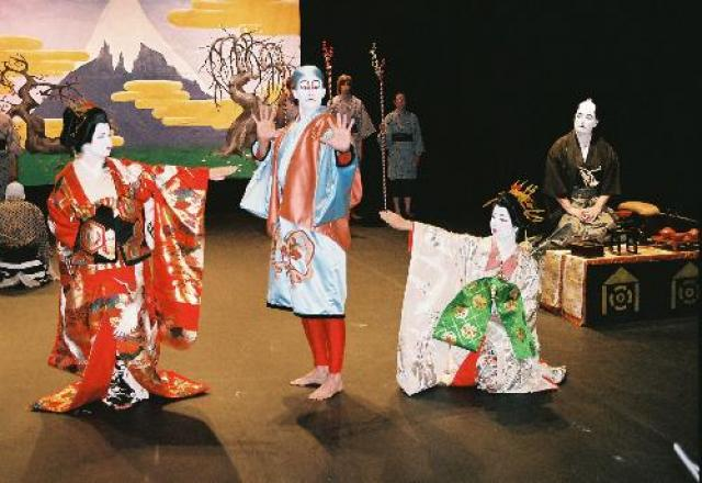 Cùng hòa mình vào văn hóa kịch múa Kabuki