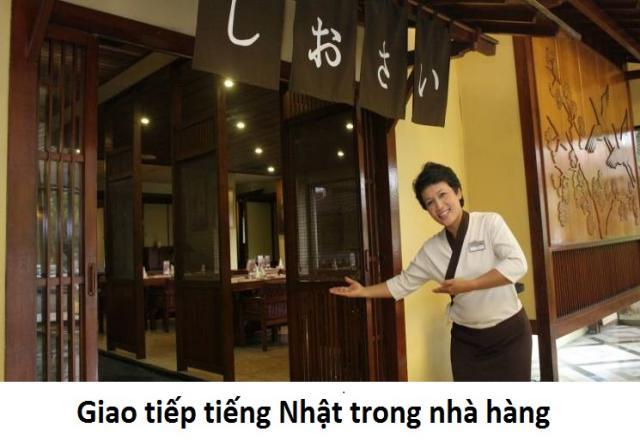 12 câu thoại tiếng Nhật trong nhà hàng cho nhân viên
