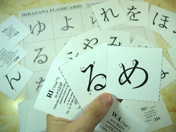 Kết quả hình ảnh cho flash card tiếng Nhật