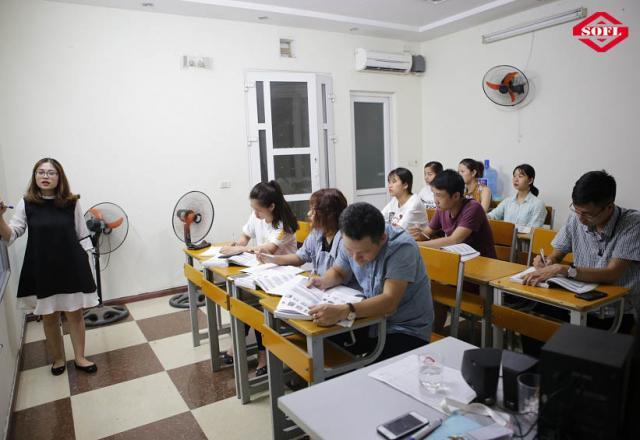 Khóa học tiếng Nhật sơ cấp 5 tại Trung tâm Nhật ngữ SOFL