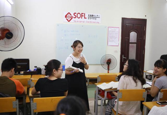 Lớp học tiếng Nhật giao tiếp trong 3 tháng tại Nhật ngữ SOFL