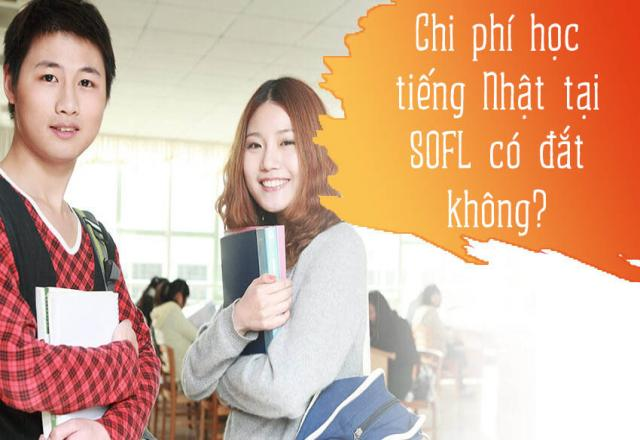 Kinh phí học tiếng Nhật tại SOFL như thế nào?