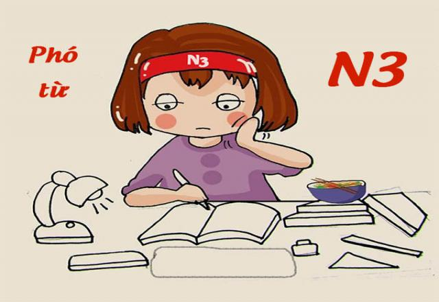 Tổng hợp phó từ N3 thông dụng trong kỳ thi JLPT