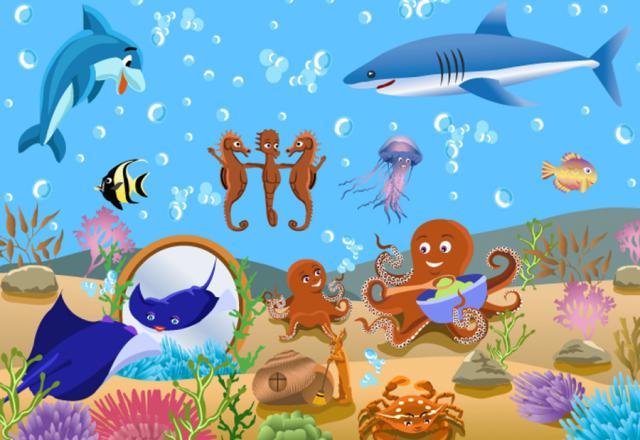 Khám phá thế giới dưới biển qua các từ vựng tiếng Nhật