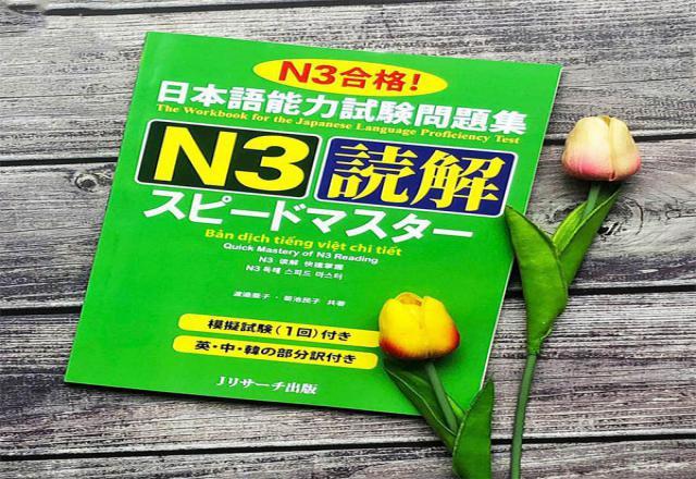 Bộ 3 tài liệu đọc hiểu tiếng Nhật N3 tốt nhất khi luyện thi JPT